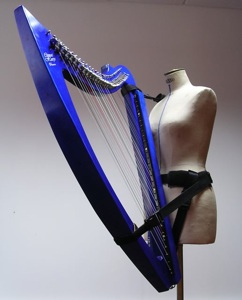 Harness for electroharp