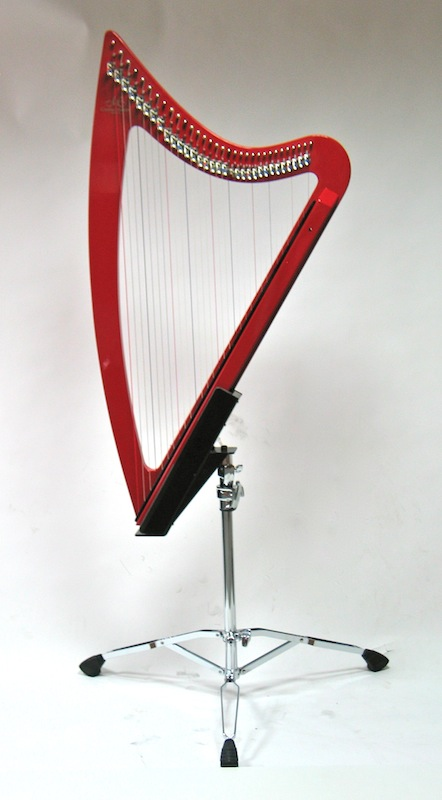 Tripod for electroharp
